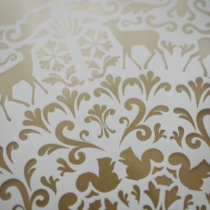 animal lace paper
